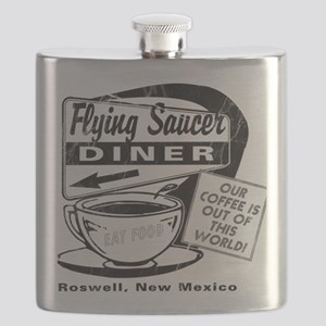 Flying Saucer Diner Flask