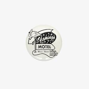 Flamingo Motel Mini Button
