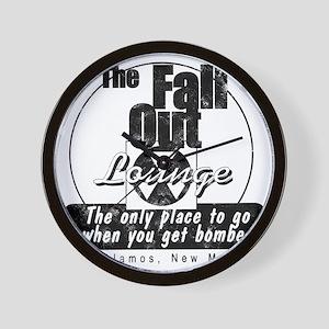 Fall Out Lounge Wall Clock