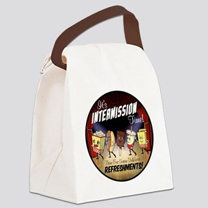 Intermission Time Canvas Lunch Bag
