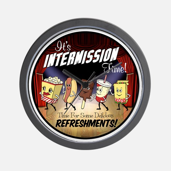 Intermission Time Wall Clock