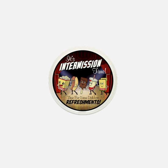 Intermission Time Mini Button