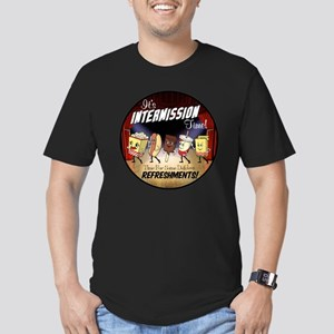 Intermission Time Men's Fitted T-Shirt (dark)
