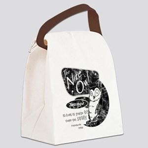 Nite Owl Diner Canvas Lunch Bag