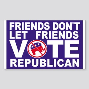 Anti-Republican Sticker