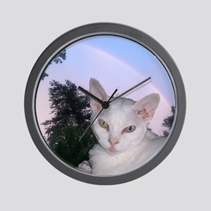 Cat-Calendar-Cover Wall Clock