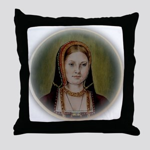 Catherine of Aragon Throw Pillow