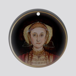 Anne of Cleves Round Ornament