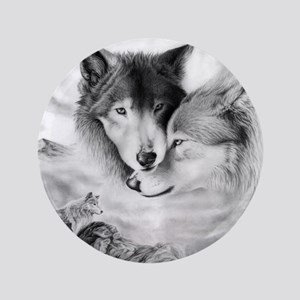 "wolfmates 3.5"" Button"