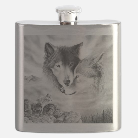 wolfmates Flask