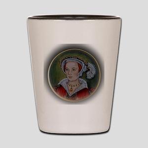 Katherine Parr Shot Glass