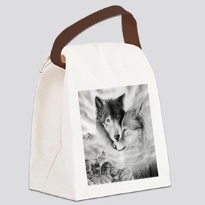 wolfmates Canvas Lunch Bag