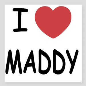 """MADDY Square Car Magnet 3"""" x 3"""""""