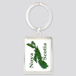 NS-biggest-watermasked w text-90 Portrait Keychain