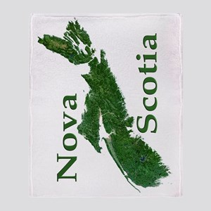 NS-biggest-watermasked w text-90 Throw Blanket