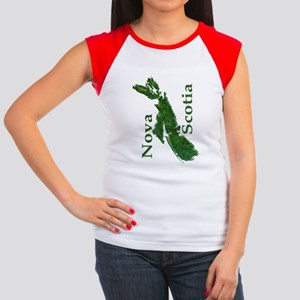 NS-biggest-watermasked  Women's Cap Sleeve T-Shirt