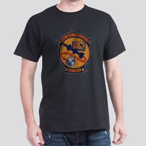 Naval Guided Missiles School Patch Dark T-Shirt