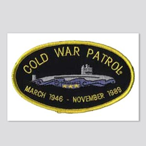Cold War Patrol Patch Postcards (Package of 8)