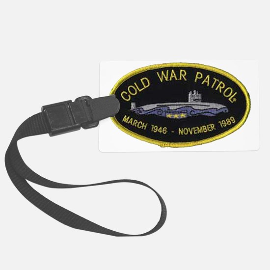 Cold War Patrol Patch Luggage Tag
