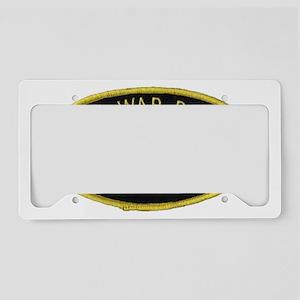 Cold War Patrol Patch License Plate Holder
