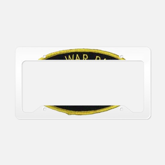 Cold War Patrol Patch License Plate Holder