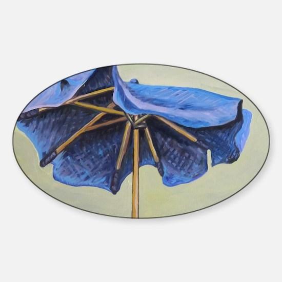 umbrella Sticker (Oval)
