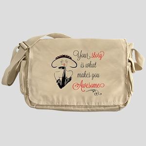 Awesome Woman Messenger Bag