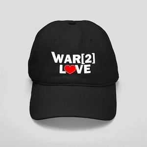 war2love_and_heart_light Black Cap
