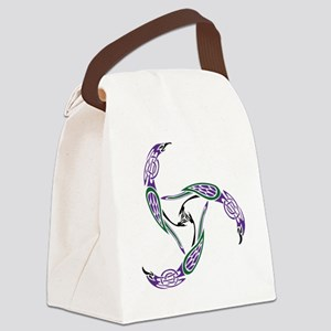 ravenknotwork Canvas Lunch Bag