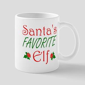 Santas Favorite Elf Mugs
