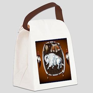 CalenderWhite Buffalo Shield 2bro Canvas Lunch Bag