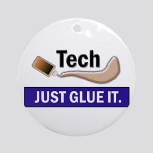 Just Glue It. Ornament (Round)