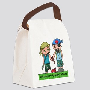 snaggle Canvas Lunch Bag