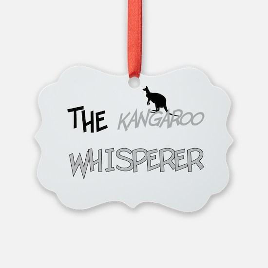 The Kangaroo Whisperer Ornament