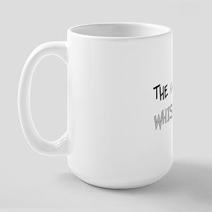 The Kangaroo Whisperer Large Mug