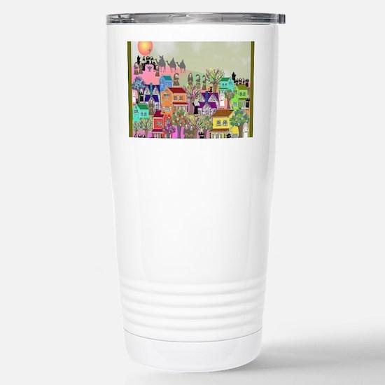nun puzzle 4 Stainless Steel Travel Mug