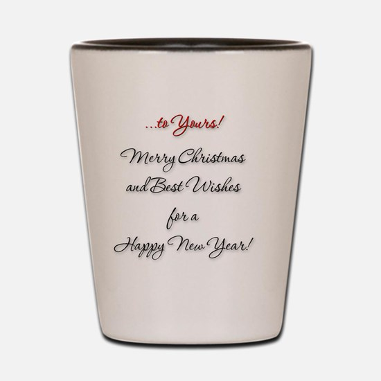 Must-merry-christ-2-in Shot Glass