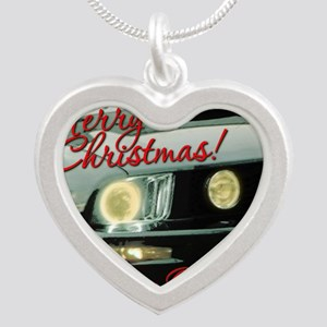 Xmas-merry-outMustang2 Silver Heart Necklace