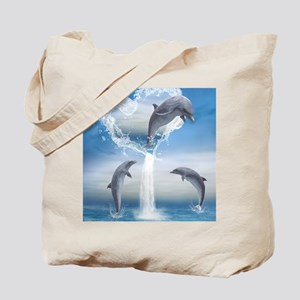 dolphins_ipad_2 Tote Bag