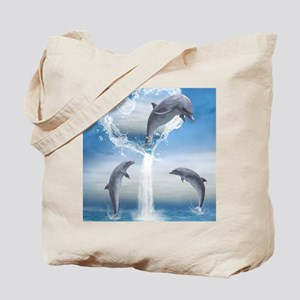 dolphins_ipad2cover Tote Bag