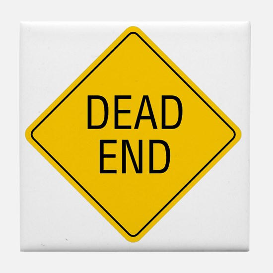Dead-End Tile Coaster