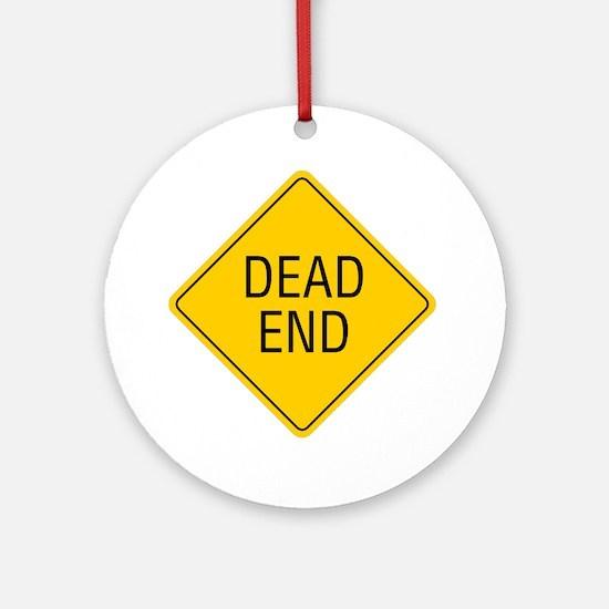 Dead-End Round Ornament