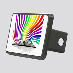 Rainbow City Hitch Cover