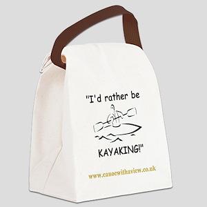 kayaklrg Canvas Lunch Bag