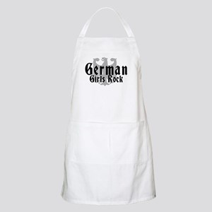 German Girls Rock BBQ Apron