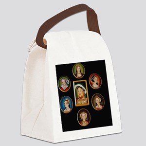 henry-wives-set-l Canvas Lunch Bag