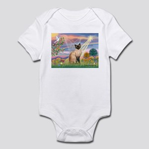 Cloud Angel & Siamese Infant Bodysuit