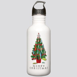 ChristmasTree_Plugs Stainless Water Bottle 1.0L