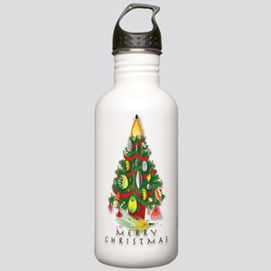 ChristmasTree_Spinners Stainless Water Bottle 1.0L