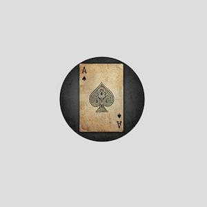 Ace of Spades Mini Button